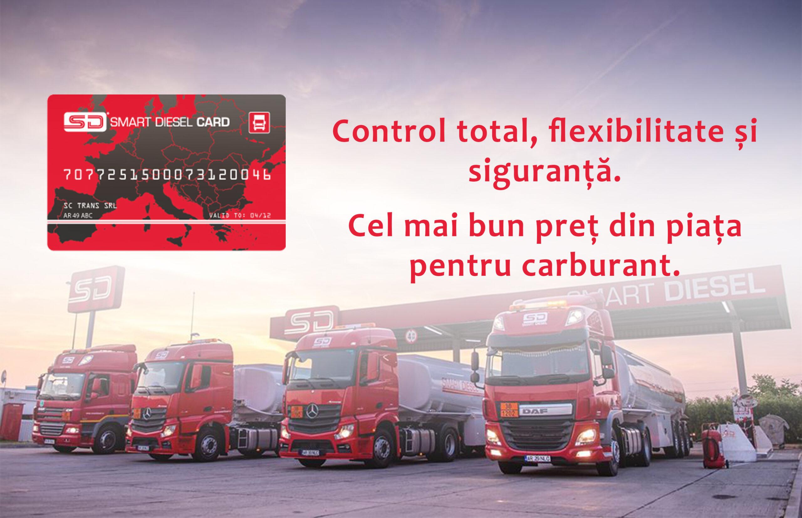 Cardul de Carburant  Smart Diesel