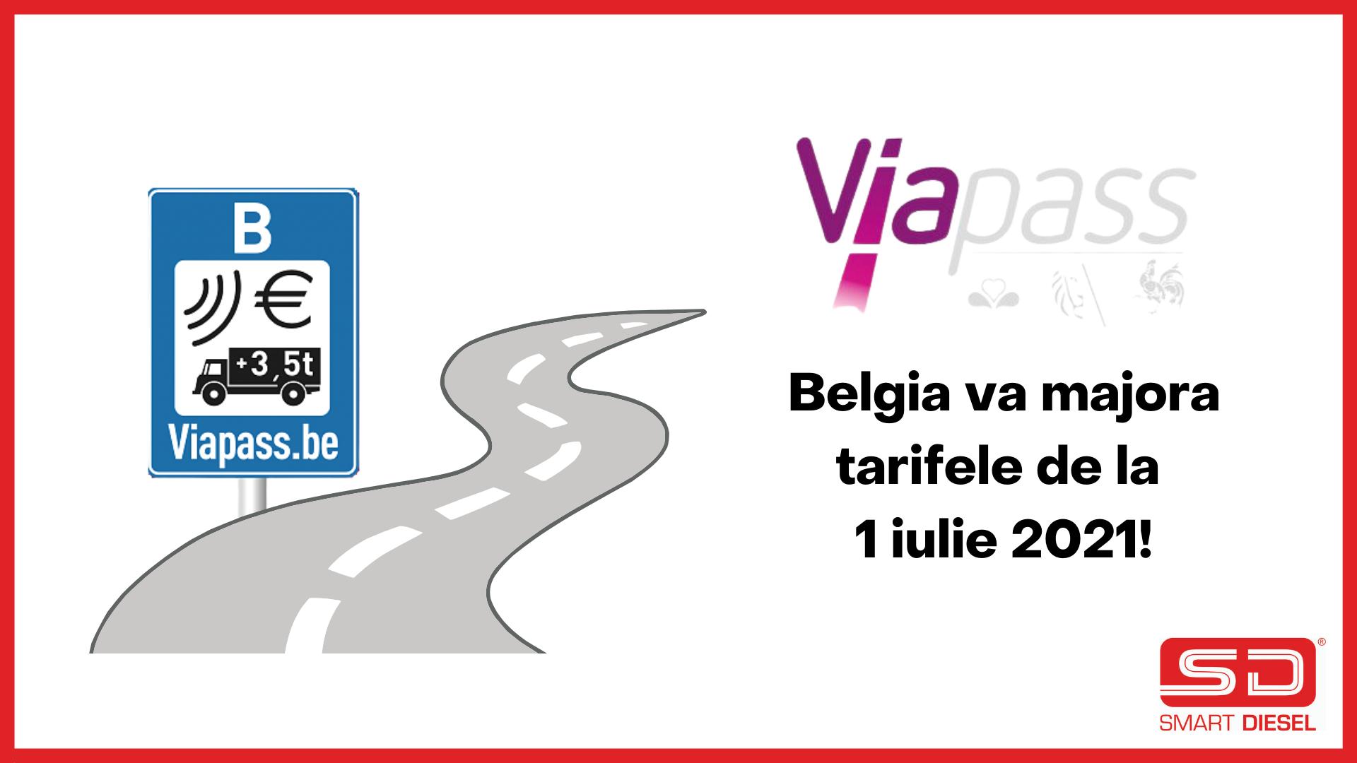 Majorare tarife taxe drum Belgia