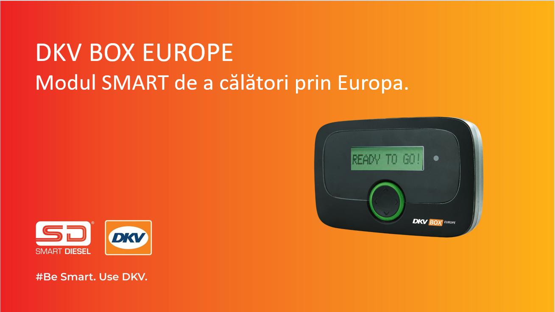 Aparatul DKV BOX EUROPE are acoperire in Italia