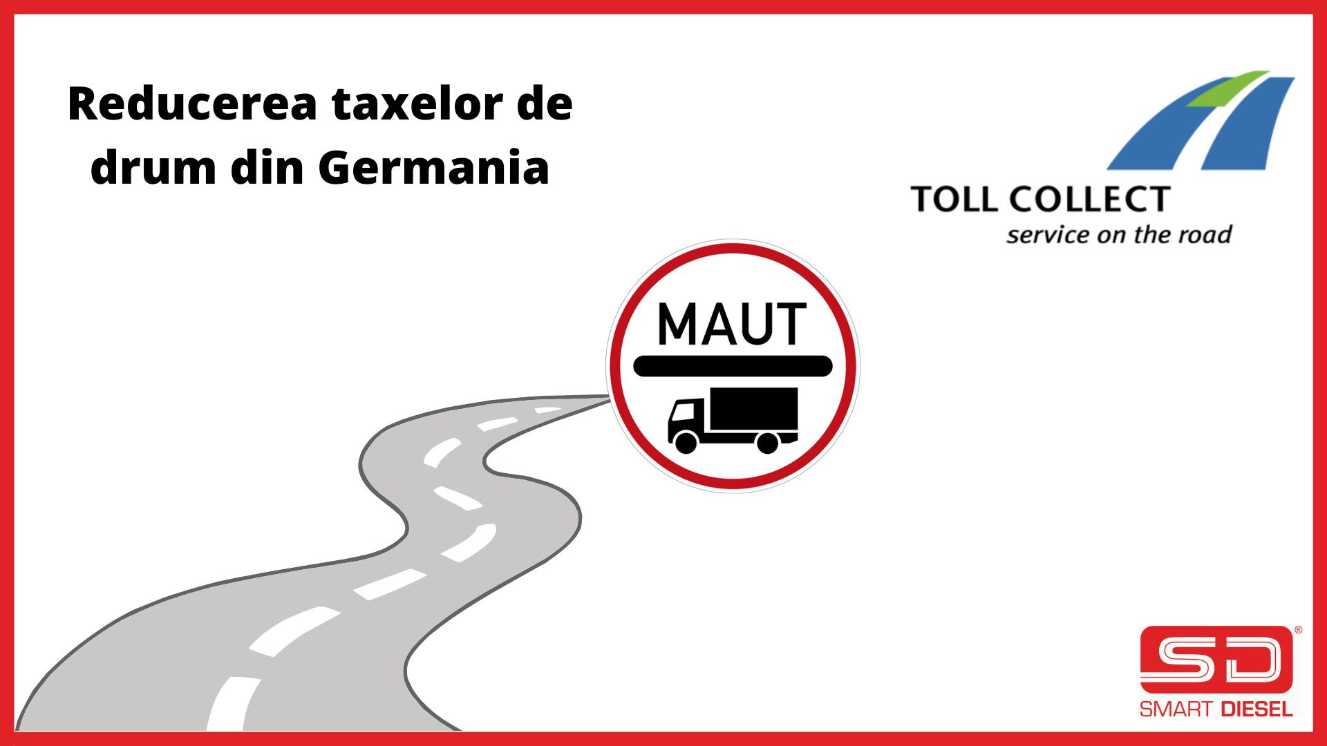 Modificare tarife Toll Collect Germania de la 1 Octombrie 2021