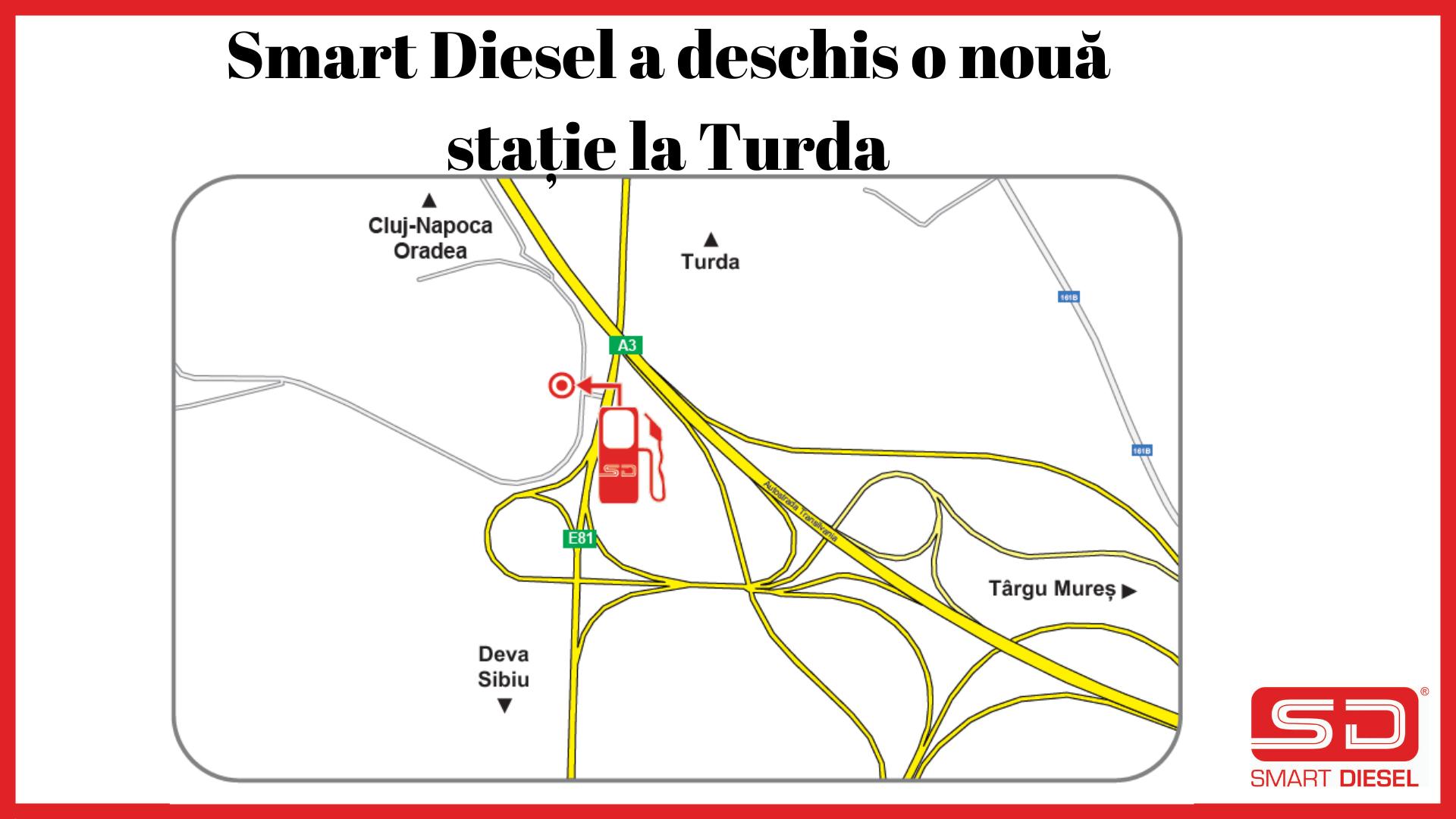 Smart Diesel isi extinde reteaua cu o noua statie la Turda